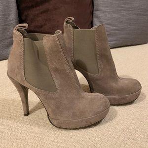 Pedro Garcia Shoes - Pedro García suede platform booties
